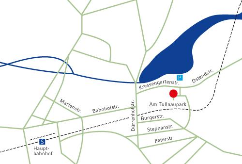 Anfahrtsplan München